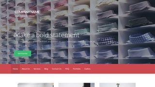 Activation Personal Shopping WordPress Theme
