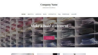 Uptown Style Personal Shopping WordPress Theme