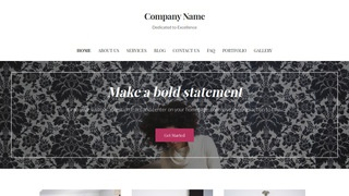 Uptown Style Personal Website WordPress Theme