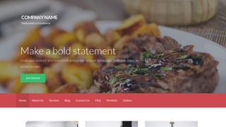 Activation Personal Chef WordPress Theme