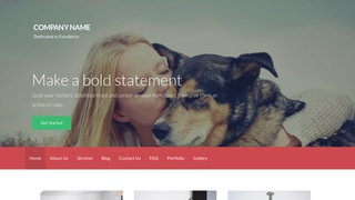 Activation Pets WordPress Theme