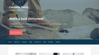 Primer Photography Service WordPress Theme