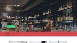 Activation Piano Bar WordPress Theme