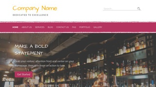 Scribbles Piano Bar WordPress Theme