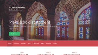 Activation Place of Worship WordPress Theme