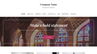 Uptown Style Place of Worship WordPress Theme