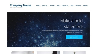 Ascension Planetarium WordPress Theme