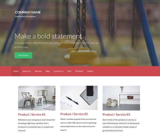 Activation Playground Equipment WordPress Theme