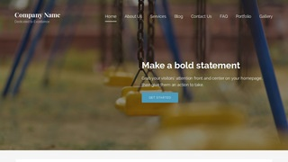 Lyrical Playground Equipment WordPress Theme