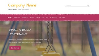 Scribbles Playground Equipment WordPress Theme