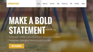Stout Playground Equipment WordPress Theme