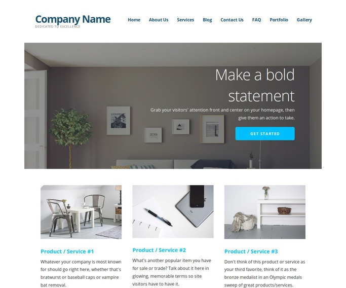 Ascension Plumbing WordPress Theme