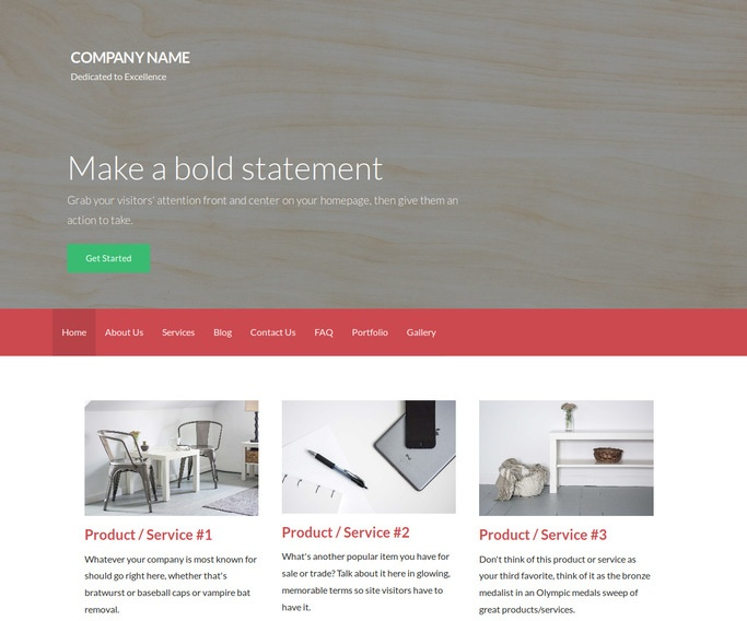 Activation Plywood Supplier WordPress Theme
