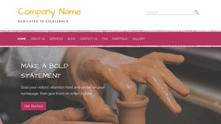 Scribbles Ceramics WordPress Theme