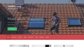 Activation Pressure Washing Service WordPress Theme