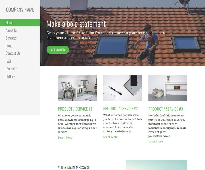 Escapade Pressure Washing Service WordPress Theme