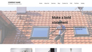 Mins Pressure Washing Service WordPress Theme