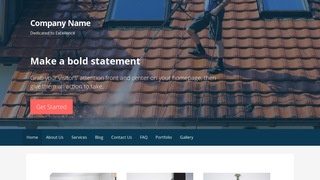 Primer Pressure Washing Service WordPress Theme