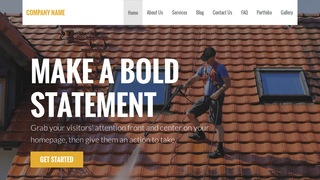 Stout Pressure Washing Service WordPress Theme
