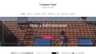 Uptown Style Pressure Washing Service WordPress Theme