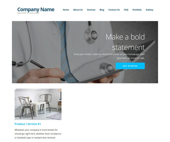 Ascension Proctologist WordPress Theme