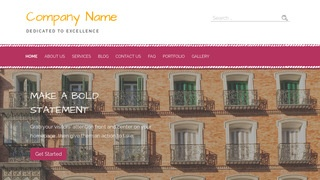 Scribbles Property Management WordPress Theme