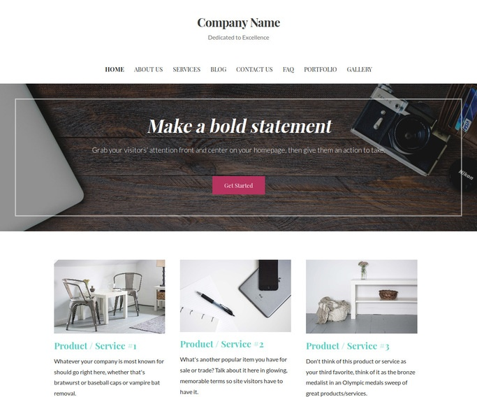 Uptown Style Public Relations WordPress Theme