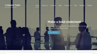 Lyrical Government Services WordPress Theme