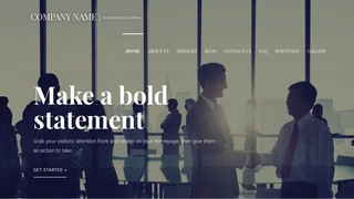 Velux Government Services WordPress Theme