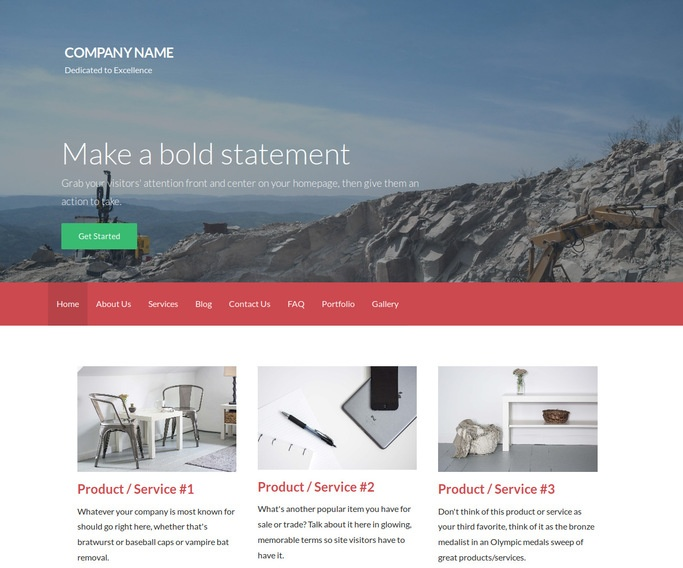 Activation Quarry WordPress Theme