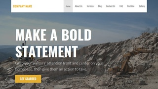Stout Quarry WordPress Theme
