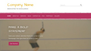 Scribbles Racquetball WordPress Theme
