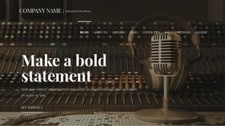 Radio Station Wordpress Themes Godaddy