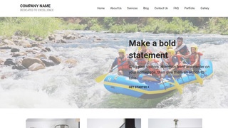 Mins Raft Trip Outfitter WordPress Theme