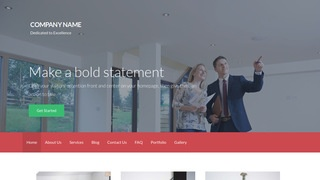 Activation Real Estate Consultant WordPress Theme