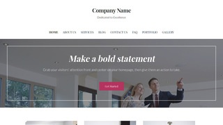 Uptown Style Real Estate Consultant WordPress Theme