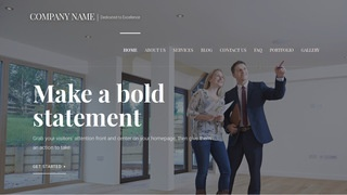 Velux Real Estate Consultant WordPress Theme