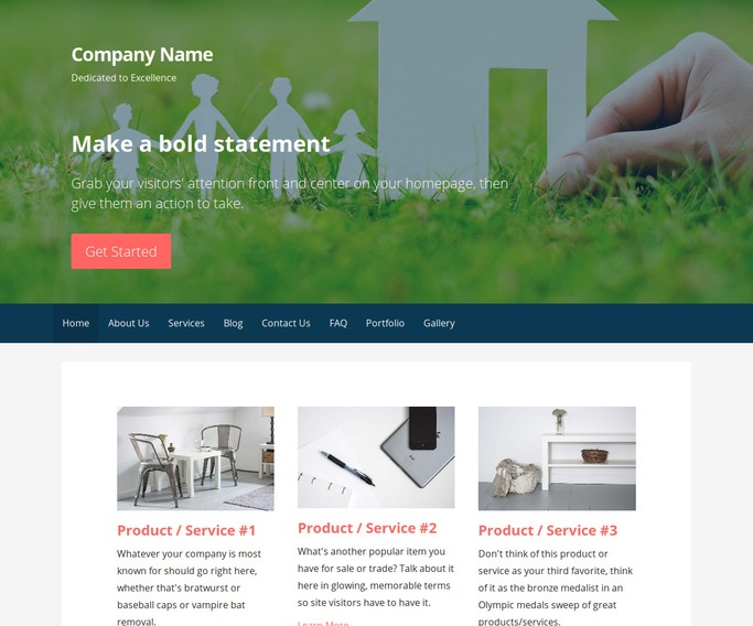 Primer Real Estate School WordPress Theme