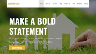 Stout Real Estate School WordPress Theme