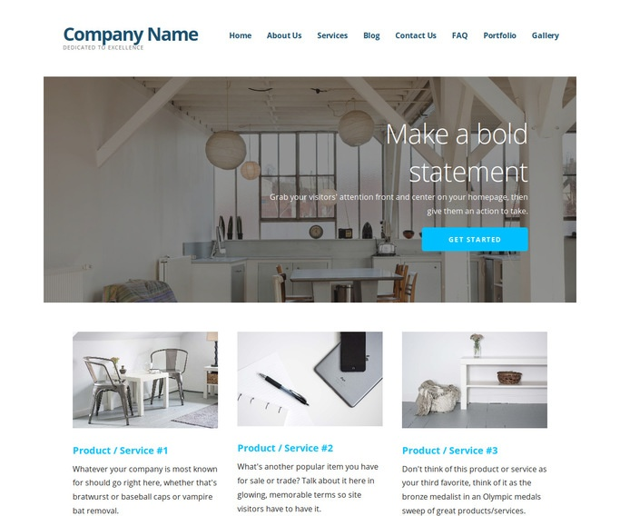 Ascension Real Estate Services WordPress Theme