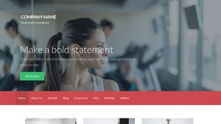 Activation Recreation Center WordPress Theme