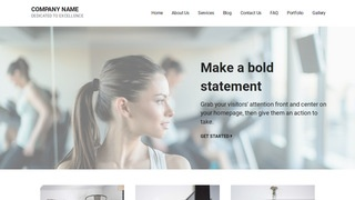 Mins Recreation Center WordPress Theme