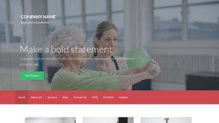 Activation Rehabilitation Service WordPress Theme