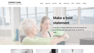 Mins Rehabilitation Service WordPress Theme