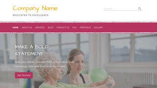 Scribbles Rehabilitation Service WordPress Theme