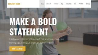 Stout Rehabilitation Service WordPress Theme