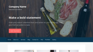 Primer Restaurant WordPress Theme