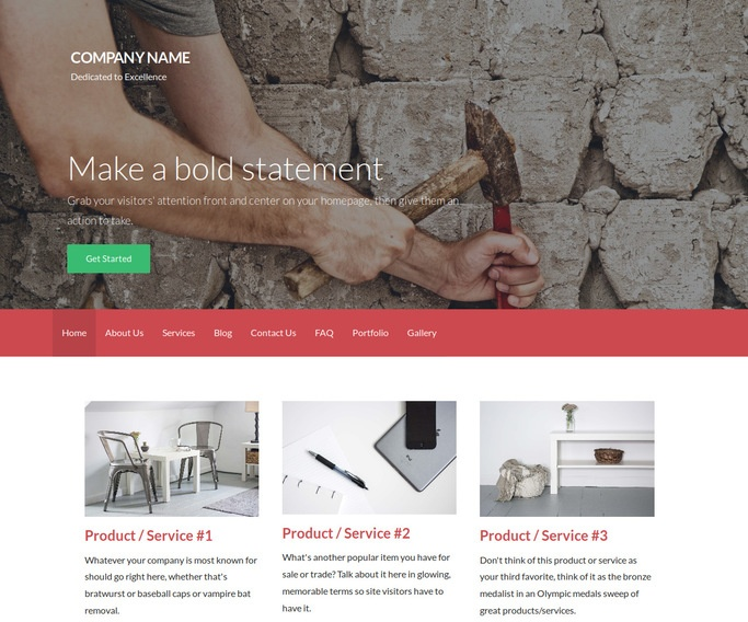 Activation Roofing WordPress Theme