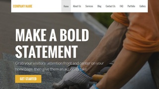 Stout Roofing Supplies WordPress Theme