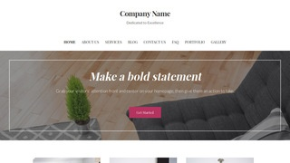 Uptown Style Rugs and Carpets WordPress Theme